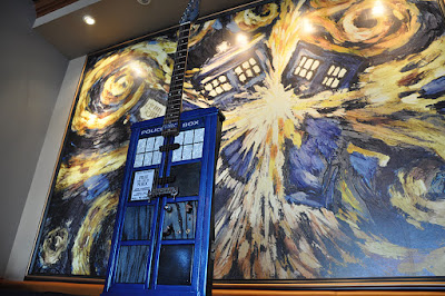 Whovian Guitardis is a one of a kind work of Art
