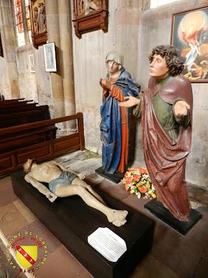 RAMBERVILLERS (88) - L'église Sainte Libaire - Mise au tombeau