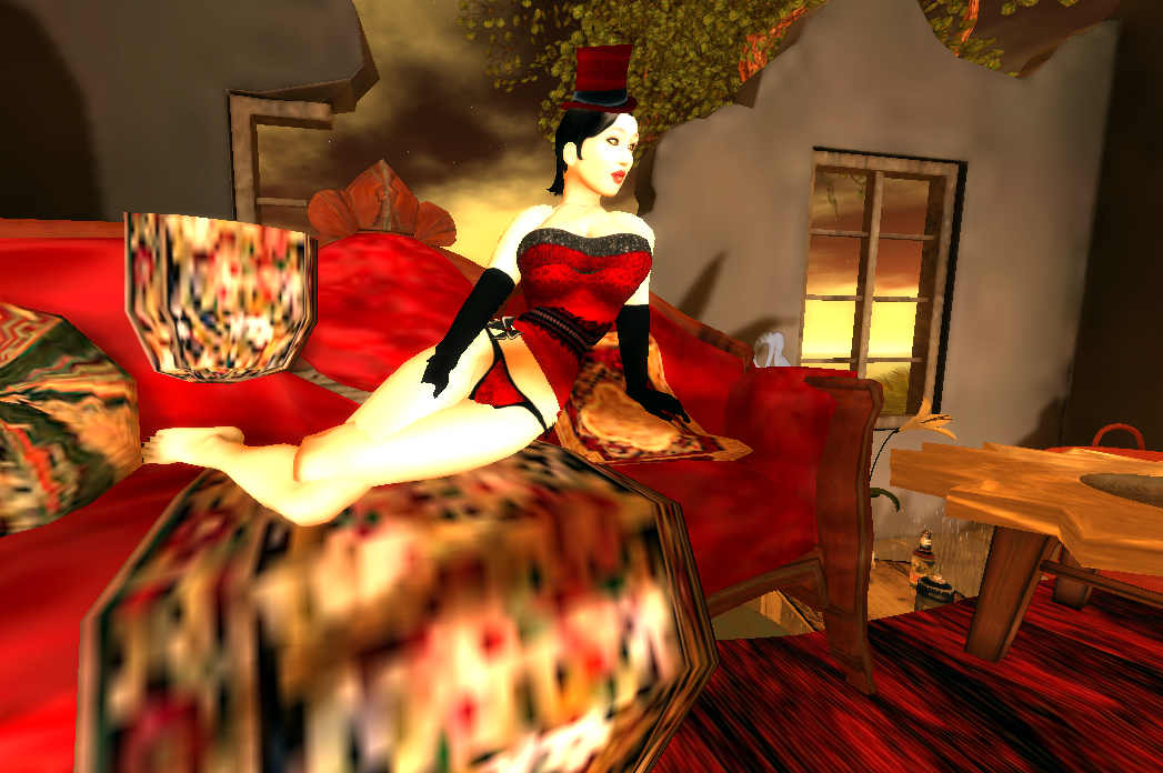 What a waste of time burlesque vs steampunk for Burlesque bedroom ideas