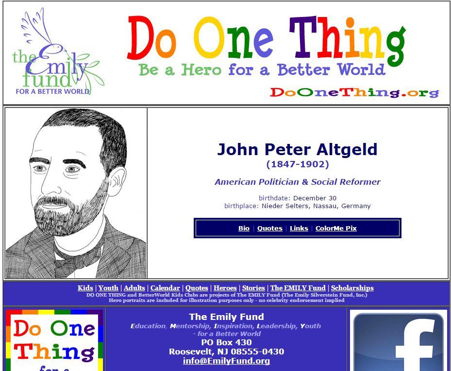 John Peter Altgeld