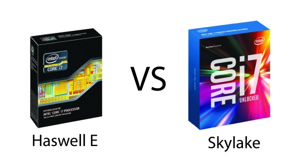 Intel's Haswell-E & Skylake