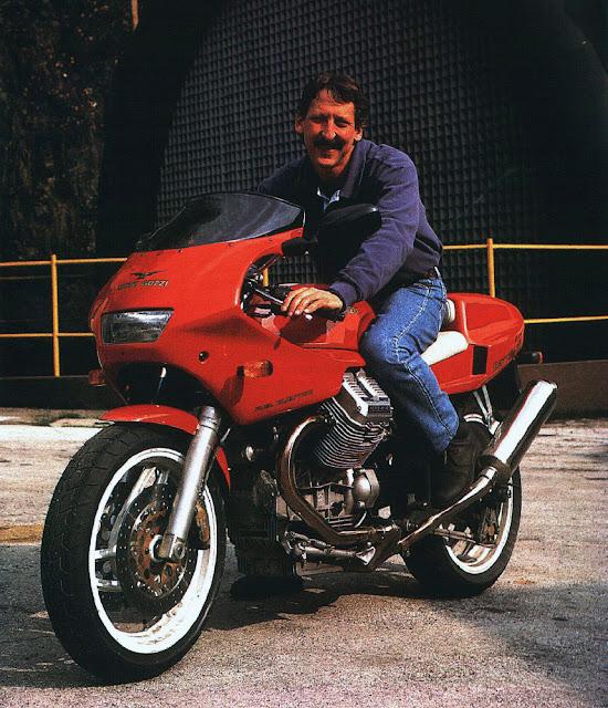 Dr John Wittner Moto Guzzi Daytona 1000