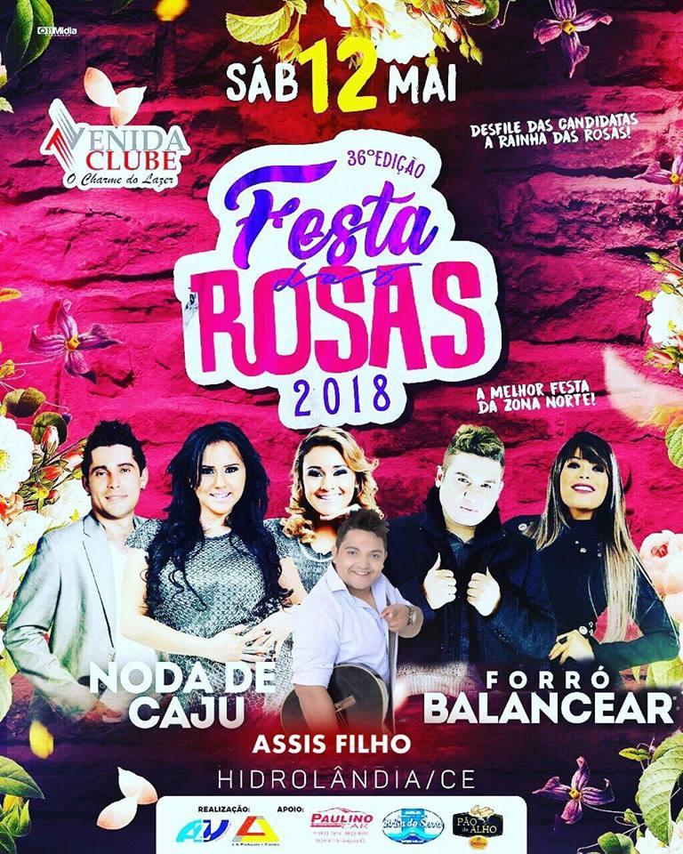 FESTA DAS ROSAS 2018