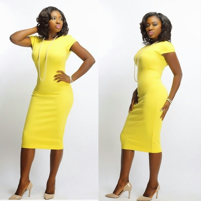 Yvonne Jegede Shines In Yellow