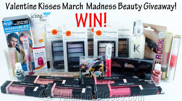 Valentine Kisses March Madness Giveaway