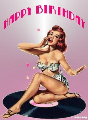 Birthday Bikini Happy