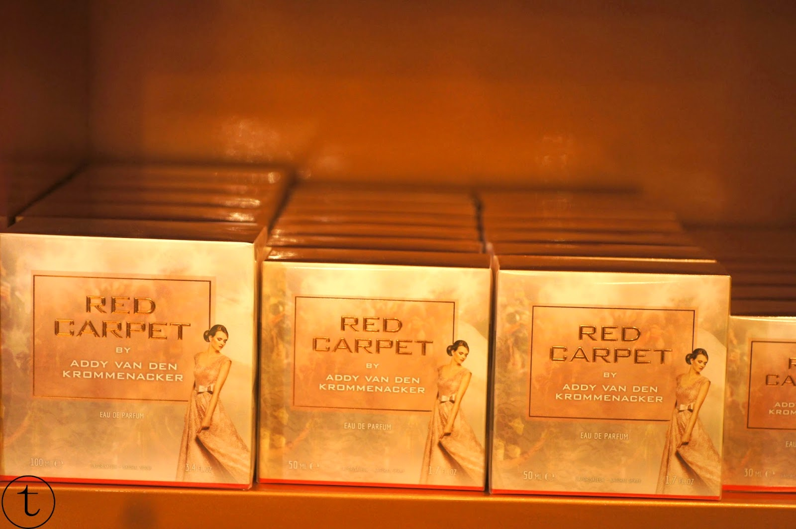 red carpet parfum by addy van den krommenacker