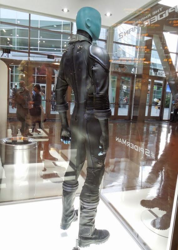 Amazing Spider-man 2 Electro movie costume back