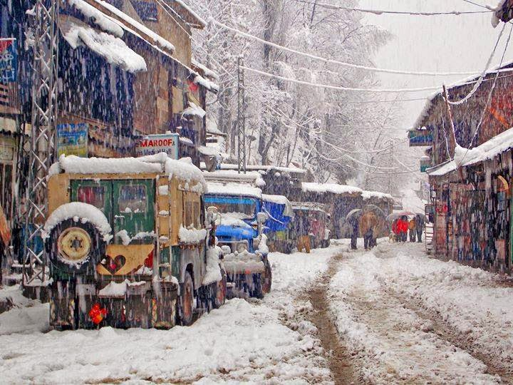 Sharda winter snow