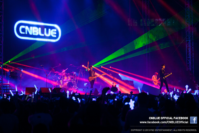 cnblue BLUE MOON World Tour Live in Malaysia