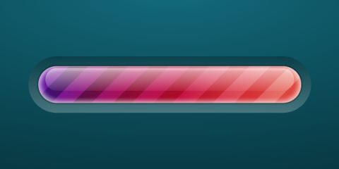 eate a Brightly Colored Progress Bar Using Transparency Settings and the Appearance Panel