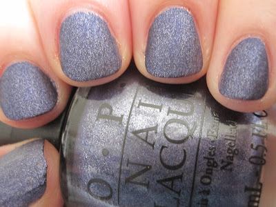 Lit from Within: OPI Suedes - Ink & Russian Navy