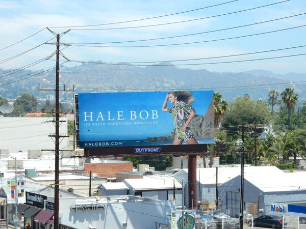 Hale Bob Summer 2015 fashion billboard