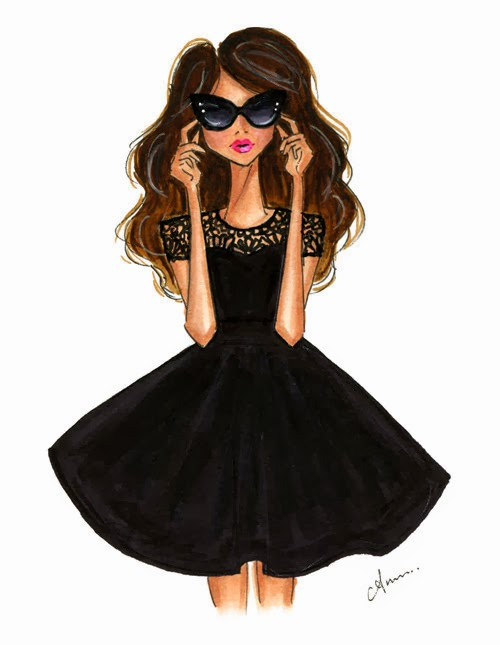 """One is never over-dressed or underdressed with a Little Black Dress."" - Karl Lagerfeld"