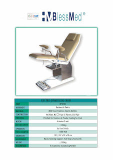 Gynaecolog Chair Electric Blessmed | Sugeng Medical