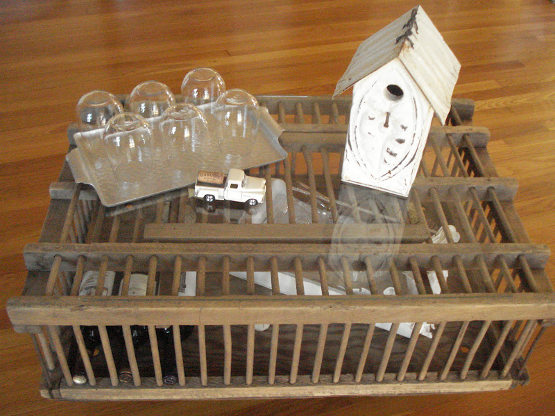 Cricket Acres Studio Vintage Bird Cage Coffee Table