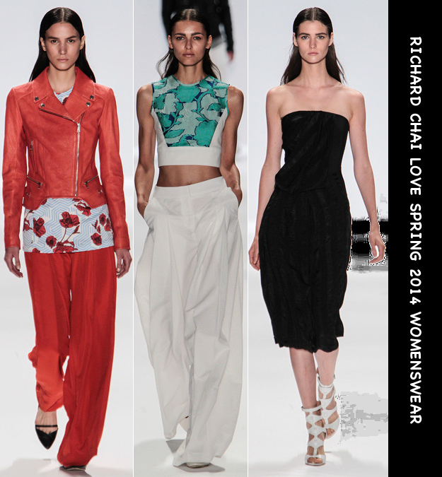 richard chai love spring 2014 women's