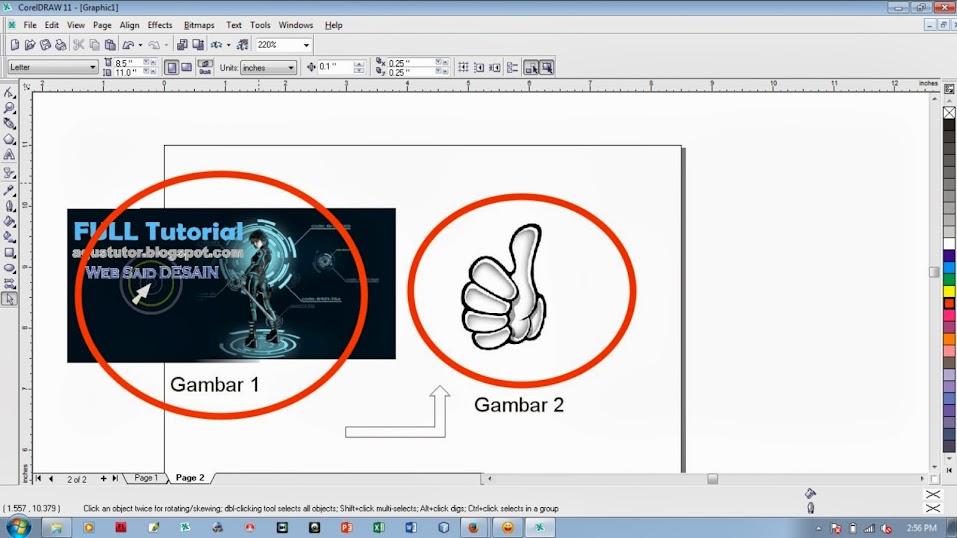 Cra membuat gambar transparan pada coreldraw bab 2
