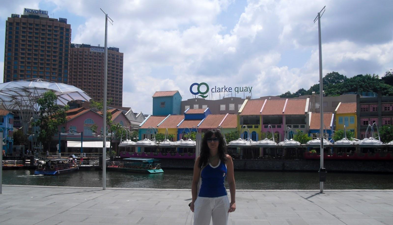 Clarke Quay bares y restaurantes en Singapur