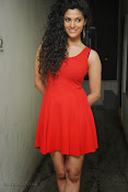 Saiyami Kher Hot in Red at Rey Trailer launch-thumbnail-11