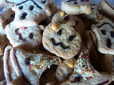 galletas, mantequilla