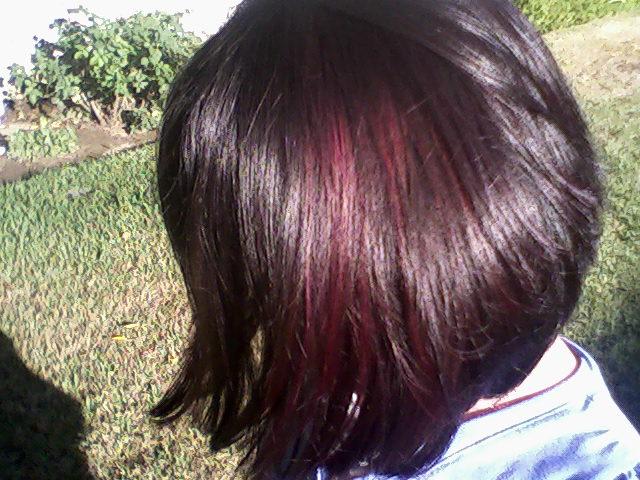 Violet Red Lowlights