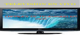 CANALES DE TELEVISIÓN EN VIVO