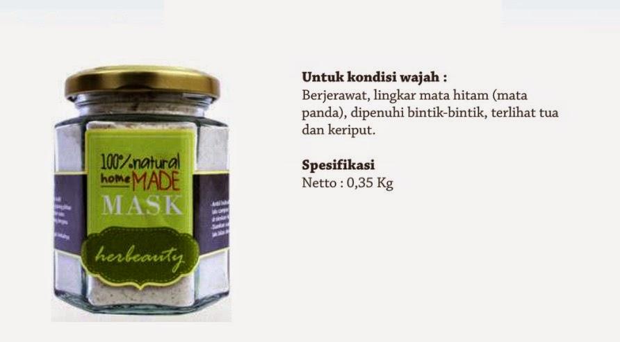 Jual Masker Wajah Herbeauty Homemade Matcha Milk Pekanbaru