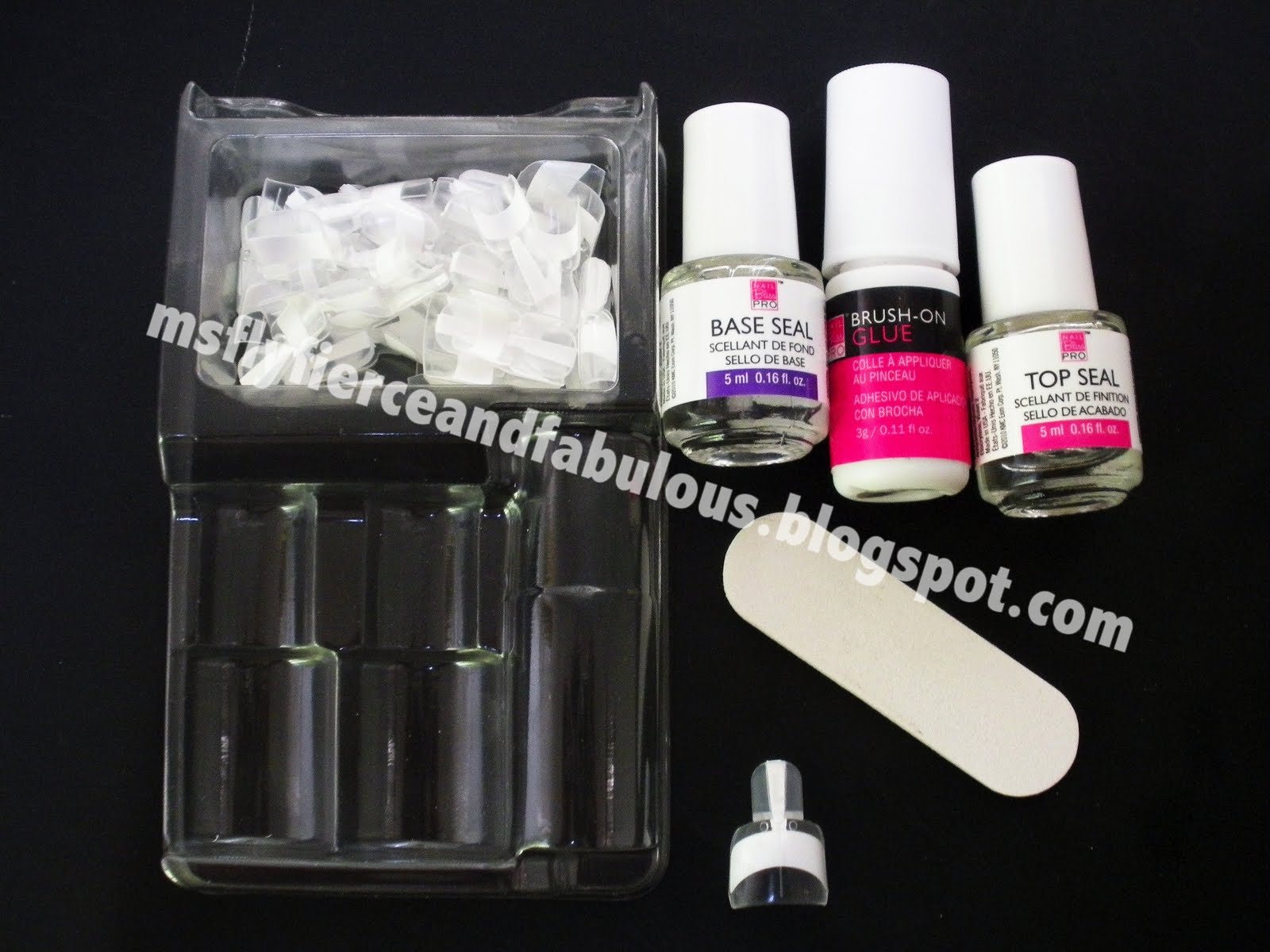 Review: French Wrap Plus Professional Manicure Kit   Fly Fierce Fab
