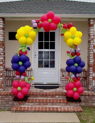 Arco de Balão Flores
