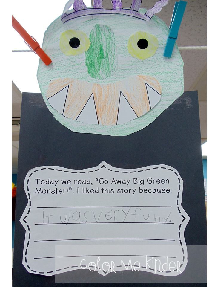 It's just an image of Ambitious Go Away Big Green Monster Printable Book