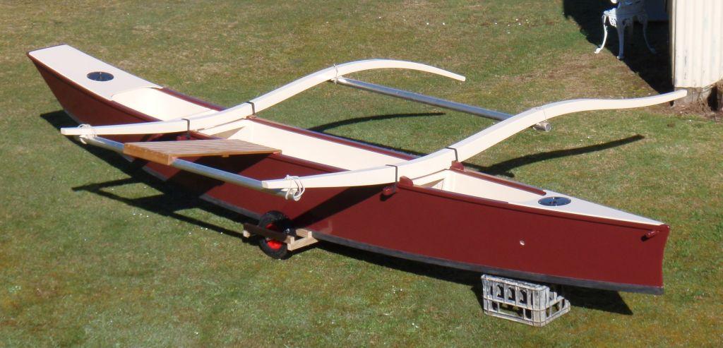 C Lion Outrigger Canoe Outrigger Saili...