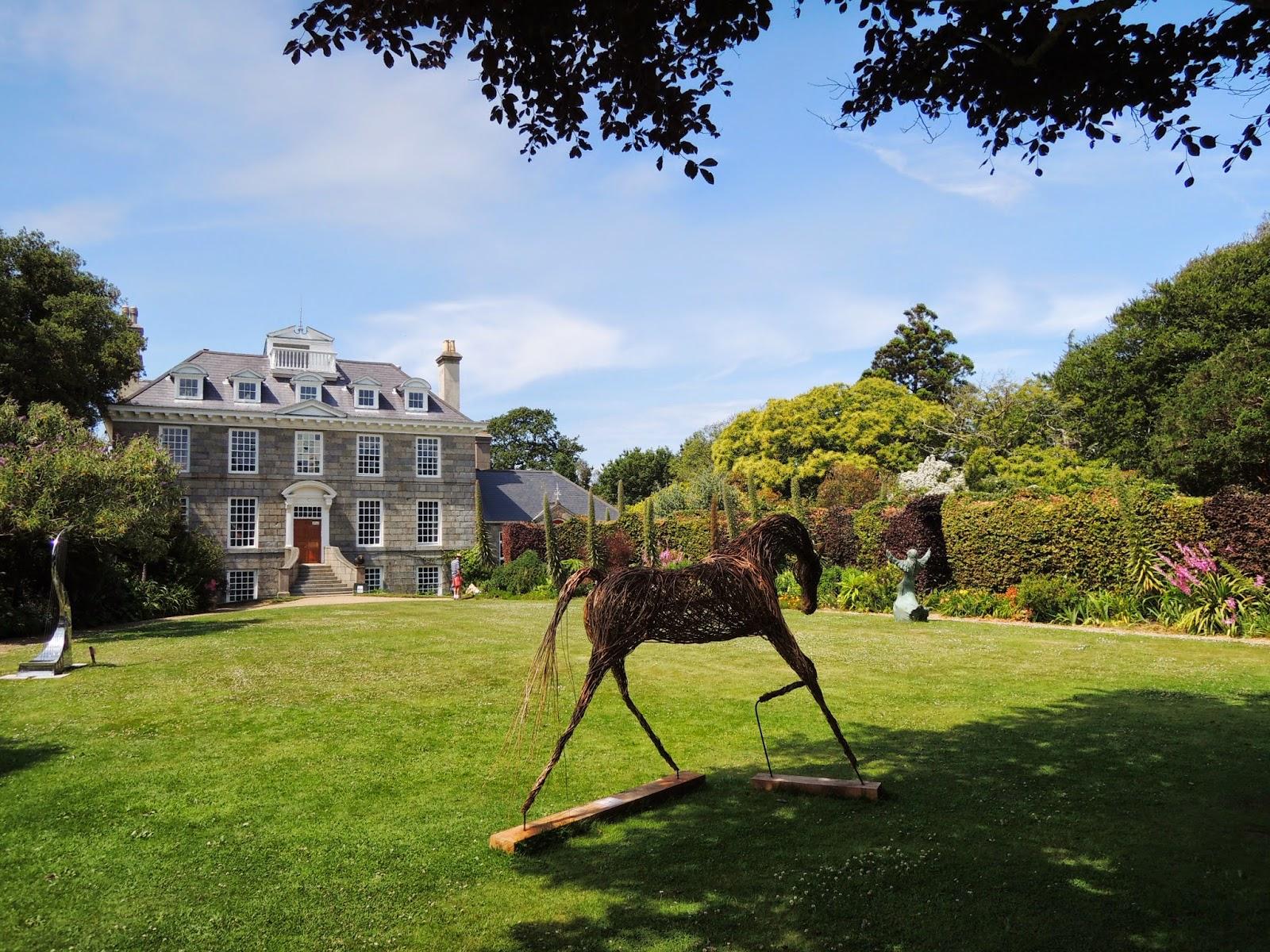 Sausmarez Manor, Guernsey Island