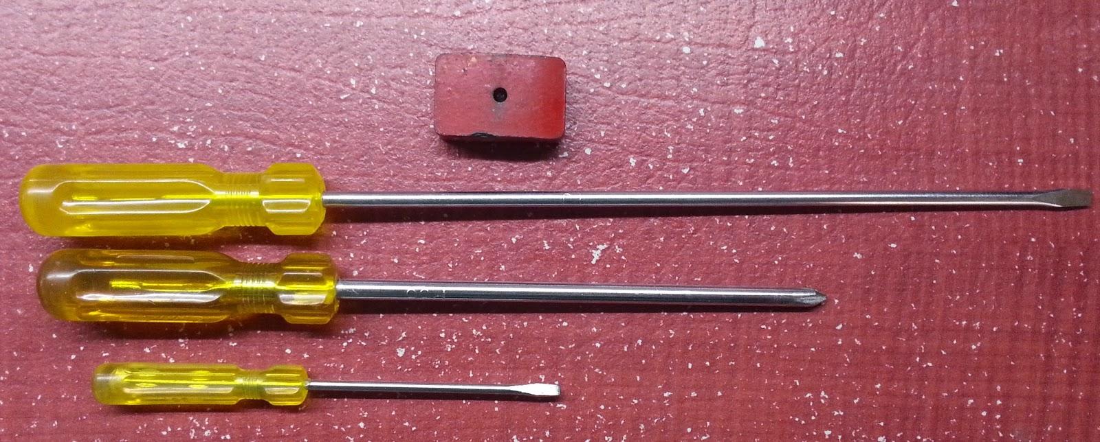 tech freax magnetize a screw driver. Black Bedroom Furniture Sets. Home Design Ideas