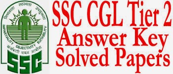 SSC CGL TIER 2 Answer Key 2017 & Paper Solution