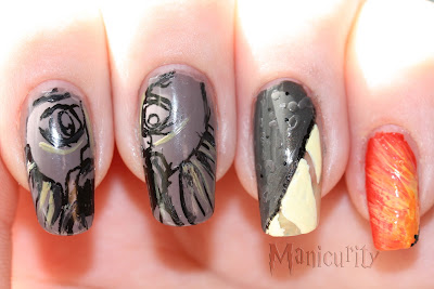 Harry Potter and the Chamber of Secrets nails 2