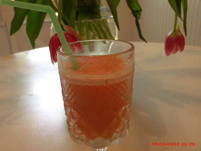 Grapefruit slushy