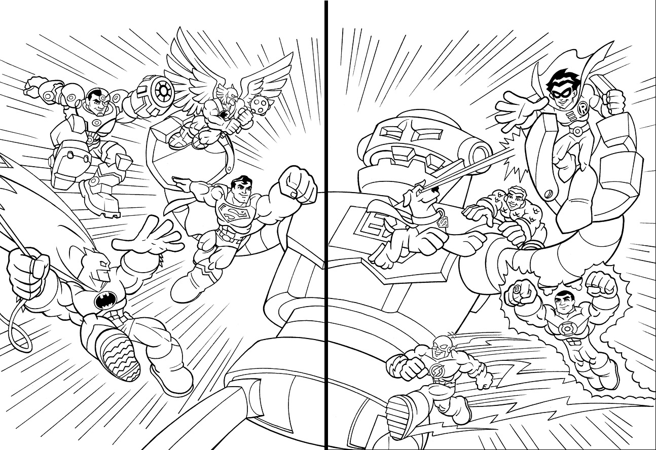 Coloring Pages Dc Super Friends Coloring Pages super friends coloring pages futpal com regular show eassume