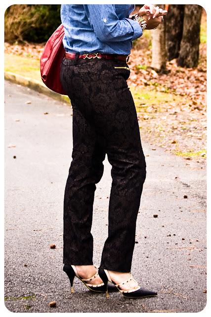 Baroque Moto Jeans