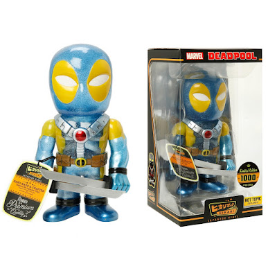 "Hot Topic Exclusive ""X-Men"" Deadpool Hikari Sofubi Marvel Vinyl Figure by Funko"