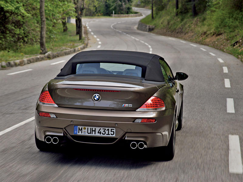 bmw m6 convertible 2007 bmw car wallpapers