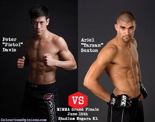 Peter Davis vs Ariel Sexton MIMMA Grand Finals