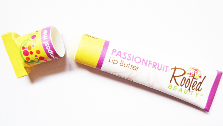 A picture of Rooted Beauty Passionfruit Lip Butter