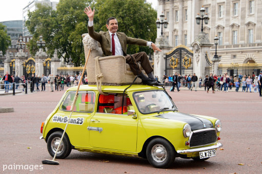 Just A Car Guy Rowan Atkinson Celebrates The 25th
