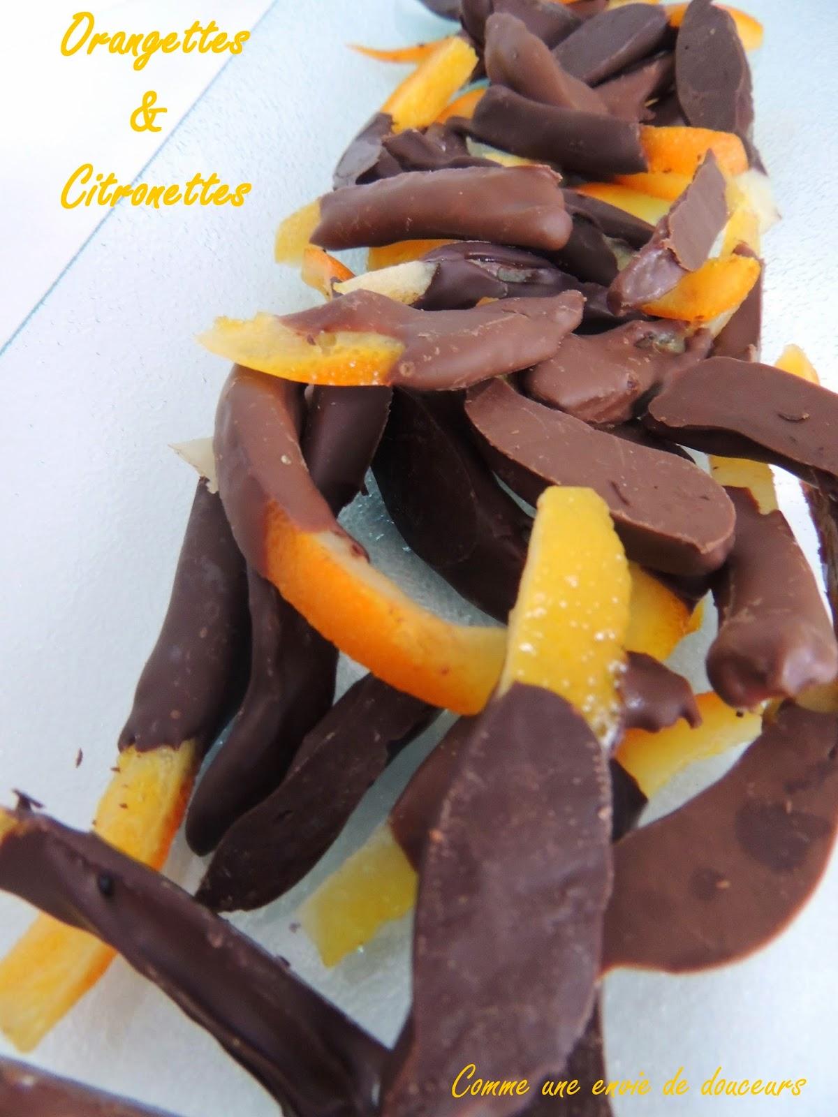 Orangettes (Candied Orange Peels) Recipe — Dishmaps