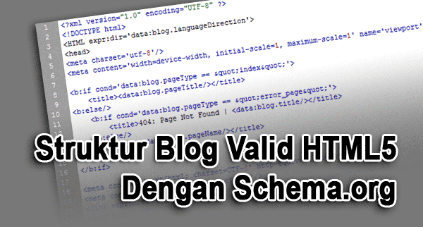 Kerangka Template schema.org , Fast loading and Valid