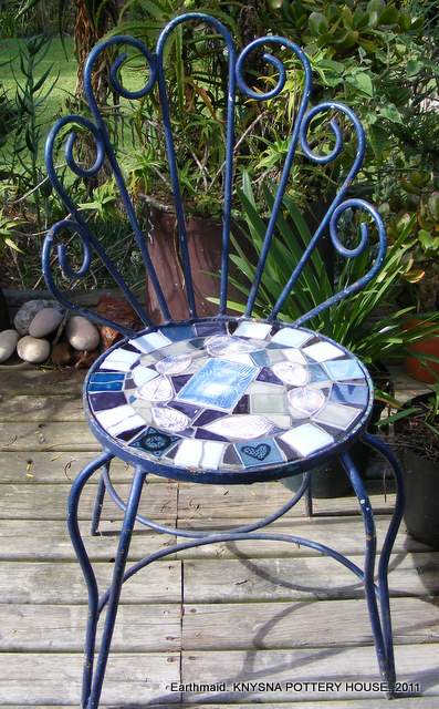 Garden Furniture Mosaic how to mosaic and make beautiful objects for home and garden