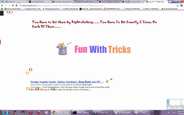 Play game on google_FunWidTricks.Com