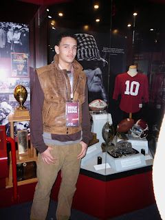 Derek Kief standing in front of a long history of tradition