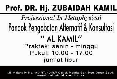 Pengobatan Alternatif Umi Zubaidah